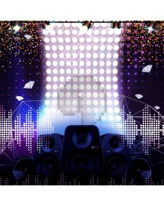 Stage Light Computer Printed Photography Backdrop LMG-968