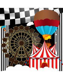 Circus Balloon Flag Computer Printed Photography Backdrop MSL-184