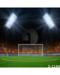 Open Football Field Computer Printed Photography Backdrop S-1164