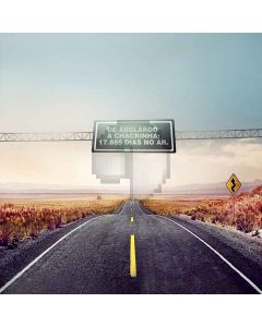 Uneven Road Computer Printed Photography Backdrop S-118