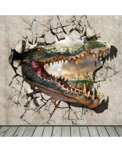 The Angry Dinosaur  Computer Printed Photography Backdrop S-155