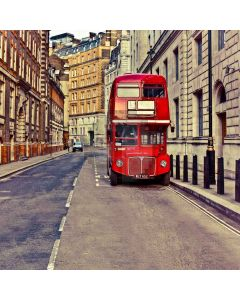 Streetscape Of London Computer Printed Photography Backdrop S-1781