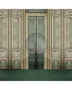 Elegant Door Computer Printed Photography Backdrop S-1937