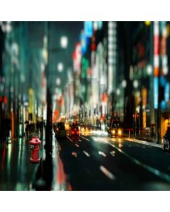 City Night Computer Printed Photography Backdrop S-272