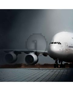 Big Airplane Dream  Computer Printed Photography Backdrop S-484