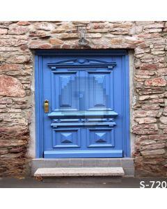 Solemn Door Computer Printed Photography Backdrop S-720