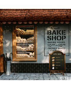 Bake Shop Computer Printed Photography Backdrop S-761