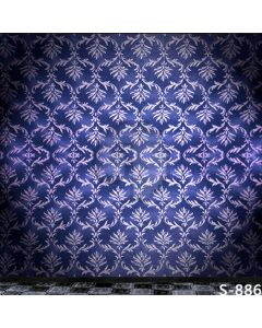 Fancy Pattern Computer Printed Photography Backdrop S-886