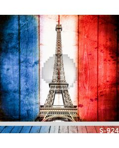 Eiffel Tower Computer Printed Photography Backdrop S-924