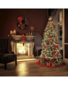 Christmas Tree Computer Printed Photography Backdrop ST-001