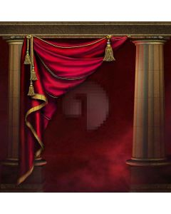 Court Style  Computer Printed Photography Backdrop XLX-065