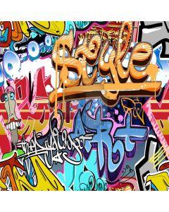 Graffiti Art Computer Printed Photography Backdrop XLX-079