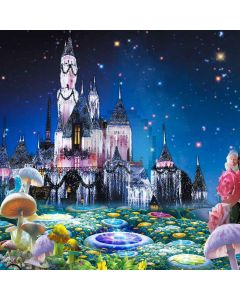 Beautiful Fairy-Tale World Computer Printed Photography Backdrop XLX-200