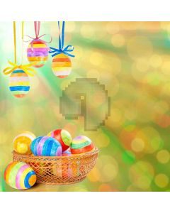 Happy Easter  Computer Printed Photography Backdrop XLX-236