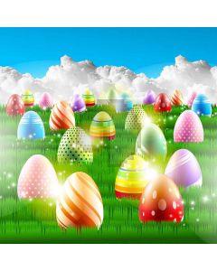 Happy Eggs Computer Printed Photography Backdrop XLX-239