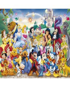 Fairy Tale Characters Computer Printed Photography Backdrop XLX-264
