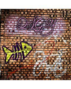 Cute Graffiti Computer Printed Photography Backdrop XLX-272
