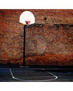 Basketball Court  Computer Printed Photography Backdrop XLX-315