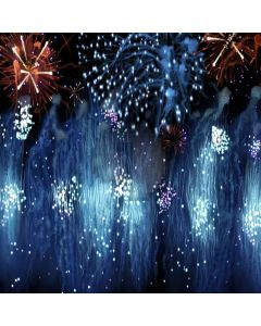 Charming Fireworks Computer Printed Photography Backdrop XLX-366