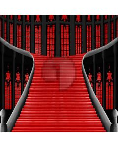 Interior Stairs Computer Printed Photography Backdrop XLX-377