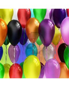 Colorful Balloons Computer Printed Photography Backdrop XLX-399