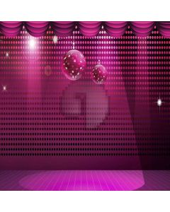 Beautiful Stage Computer Printed Photography Backdrop XLX-448