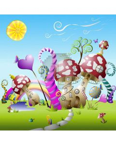 Cute Fairy Tale World  Computer Printed Photography Backdrop XLX-477