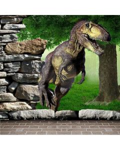 Dinosaur World  Computer Printed Photography Backdrop XLX-521