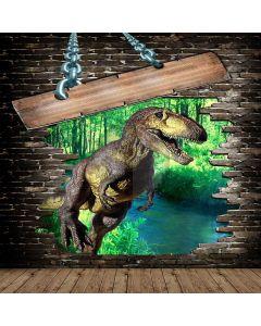 Strong Dinosaur  Computer Printed Photography Backdrop XLX-646
