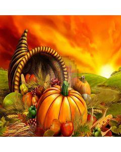 Halloween Pumpkin Digital Printed Photography Backdrop YHA-026