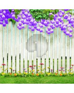 Tidy And Beautiful Garden Digital Printed Photography Backdrop YHA-043