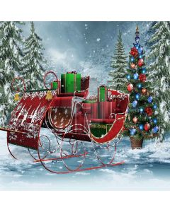 Gorgeous Christmas Gifts Digital Printed Photography Backdrop YHA-073