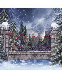 Christmas Bells Digital Printed Photography Backdrop YHA-074