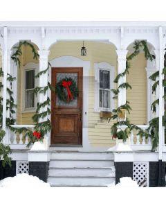 Christmas House Digital Printed Photography Backdrop YHA-075