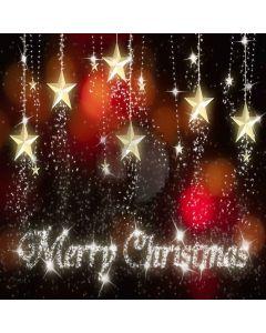 Christmas Stars Digital Printed Photography Backdrop YHA-082