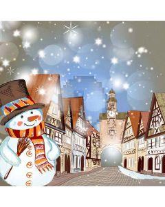 Snow Man Digital Printed Photography Backdrop YHA-090