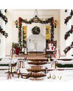 The Decoration Of Christmas Digital Printed Photography Backdrop YHA-120
