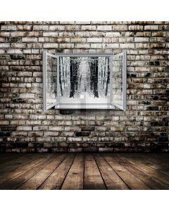 Window And Wall Digital Printed Photography Backdrop YHA-139