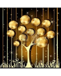 Golden Tree Digital Printed Photography Backdrop YHA-140