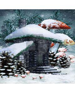 Mushroom House Digital Printed Photography Backdrop YHA-142