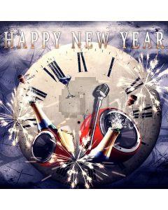 New Year Celebration Digital Printed Photography Backdrop YHA-152