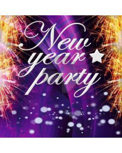 New Year Party Digital Printed Photography Backdrop YHA-154