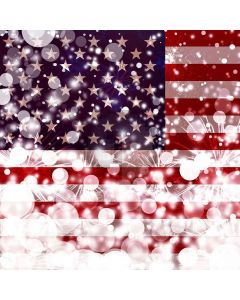 Shiny America Flag Digital Printed Photography Backdrop YHA-166
