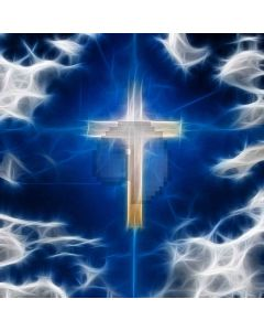 Mystery Of The Cross Digital Printed Photography Backdrop YHA-178