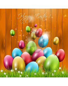 Happy Easter Digital Printed Photography Backdrop YHA-184