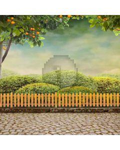 Neat Garden Digital Printed Photography Backdrop YHA-187