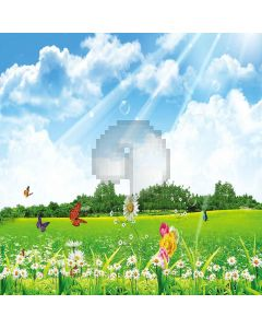 Sunny Landscape Digital Printed Photography Backdrop YHA-194
