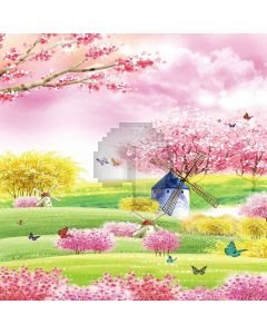 Spring Scene Digital Printed Photography Backdrop YHA-201