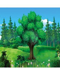 Single Tree Digital Printed Photography Backdrop YHA-202