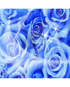 Icy Flowers Digital Printed Photography Backdrop YHA-215